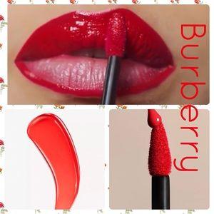 Burberry Tangerine Red No. 35 Kisses Lip Lacquer